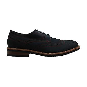 Kenneth Cole Reaction Mens Fabric Lace Up Casual Oxfords