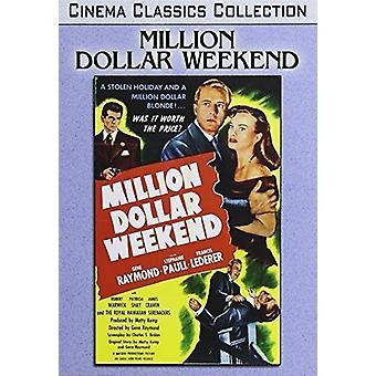 Million Dollar Weekend [DVD] USA import