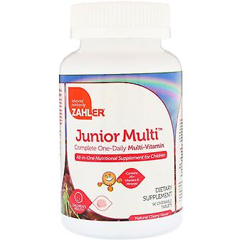 Zahler, Junior Multi, Complete One-Daily Multi-Vitamine, Natural Cherry Flavor, 9