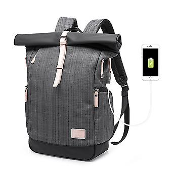 Middle school student backpack with usb charging port