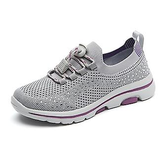 Mickcara kvinnor's spets-up sneakers 2129