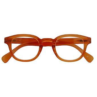 Óculos de leitura Unisex Montel espessura laranja +2,00