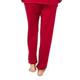 Cyberjammies Megan 4611 Women's Red Knit Pyjama Pant