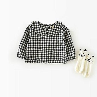 Baby Blouse - Spring Baby Clothes, Cotton Child Shirt Kids Clothes