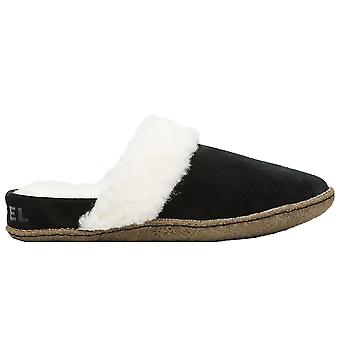 Sorel Nakiska Slide II Slippers - Black / Natural