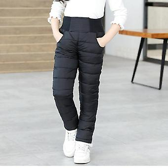 Boys & Winter Pants- Cotton Padded Thick Warm Trousers, High Waist Leggings