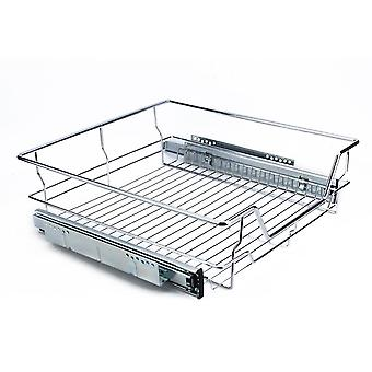 Under Shelf Storage Basket- Pull Out Sliding Basket Drawer Storage Cabinet 500mm