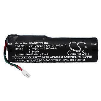 Battery for Garmin 361-00023-13 Tri-Tronics Pro 550 70 Dog Training Collar 2.2Ah