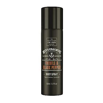 Scottish Fine Soaps Thistle & Black Pepper Body Spray 150ml