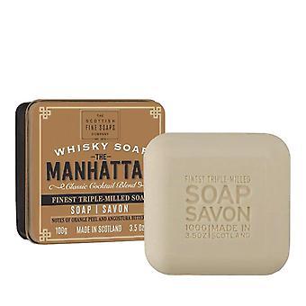 Scottish Fine Soaps Soap Bar The Manhattan 100g
