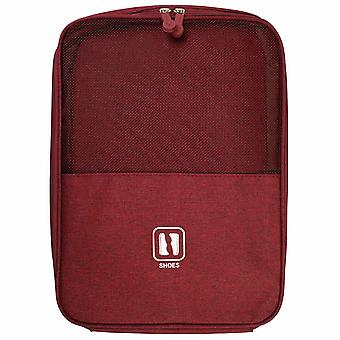 Shoe bag for Travel - Red