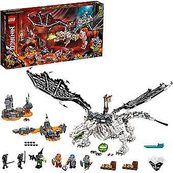 LEGO 71721 NINJAGO Schädel Zauberer's Drache