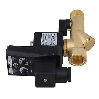1/2inch Automatic Electronic Timed Drain Valve AC110V for Filters/Separators /Dryer