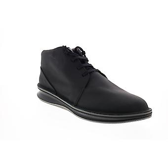 Camper Rolling  Mens Black Leather Euro Sneakers Shoes