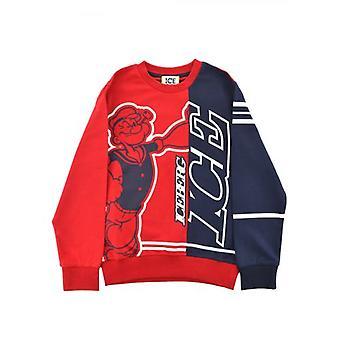 Iceberg Kids Red Sweatshirt