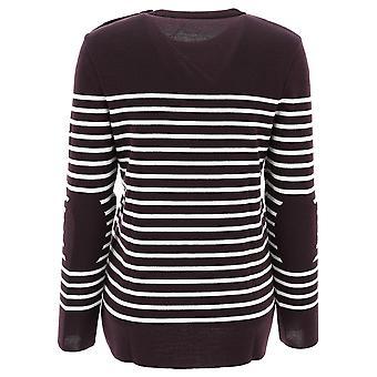 Saint James 3250e9 Women's Brown Wool Sweater