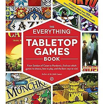 De Everything Tabletop Games Book: Van kolonisten van Catan tot Pandemie, Ontdek welke games te kiezen, hoe te spelen, en de beste manieren om te winnen! (Alles (R))