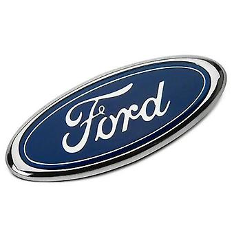 "Blue 9"" 3 Pin Ford Oval Grill Badge Emblem For Transit MK6 MK7 2006 - 2014"