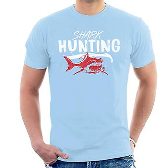 Jaws Shark Hunting Men's T-Shirt