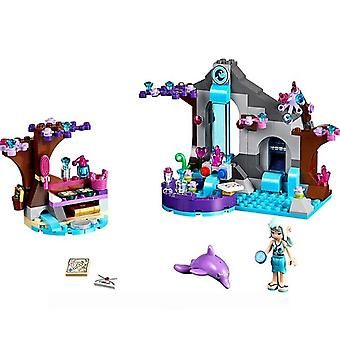 Elves Dragon Sanctuary-girl Friends Building Bricks Blocks