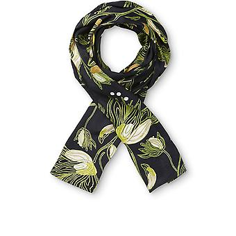 Masai Clothing Along Green Sheen Floral Scarf