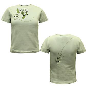 Nike Short Sleeve Green Cotton Little Boys Toddler Top T-Shirt 463351 012 A9E