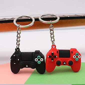 Egyszerű videojáték fogantyú pár joystick gép kulcstartó kulcstartó