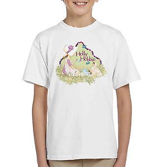 Holly Hobbie Tea Party Kid's T-Shirt