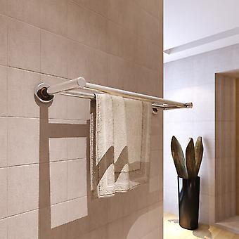 Towel holder 2 rods stainless steel