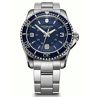 Reloj para hombre Victorinox 241602, cuarzo, 43 mm, 10ATM