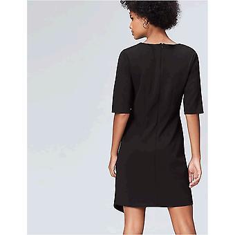 find. Women's Drape Hem_AN5414, Black (Schwarz), EU L (US 10)