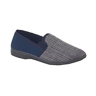 Zedzzz 'Charles' Herringbone Slippers