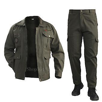 Bavlněná vojenská bunda Cargo Pants Set a taktická kamufláž Multicam Combat