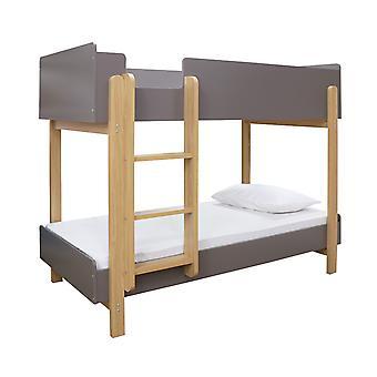 Haddy Bunk Bed Grey