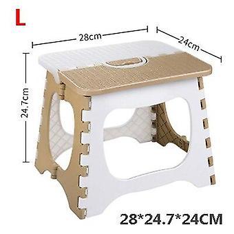 mote tykk plast folding liten krakk, bærbar stol