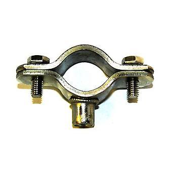 T304 Acier inoxydable Munsen Type Bossed Pipe Clip M8 Boss - Pipe Od 60-63 Mm