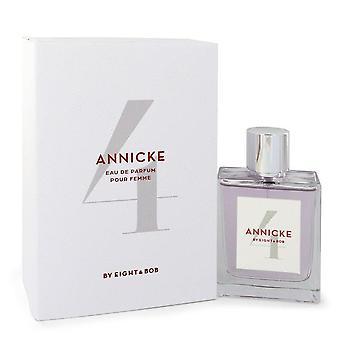 Annicke 4 Eau De Parfum Spray By Eight & Bob 3.4 oz Eau De Parfum Spray