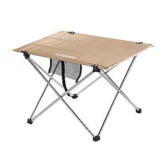 Ultralight aluminum alloy portable folding picnic table