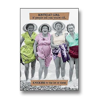 Pigment Riff Raff - Knickers To The Lot Of Them Card Birthday Card Rw160a