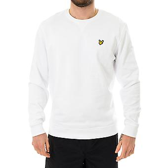 Sweat-shirt homme lyle & scott crew neck sweatshirt ml424vtr.626