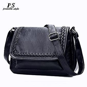 2019 Lyxiga handväskor stora äkta läder kvinnor väska kvinnor väskor designer messenger väskor av hög kvalitet kvinnlig tote bolsa feminina