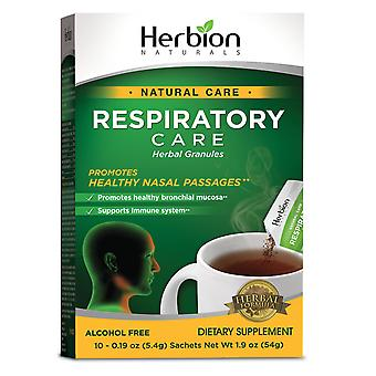 Herbion Naturals Respiratory Care Herbal Granules – 10 Ct for the Whole Family