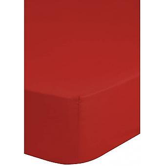 spannbettsheets 80 x 200 cm bomull röd