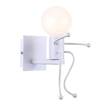 Humanoid Creative LED Indoor Wall Lamp(White)