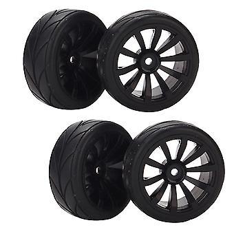 RC1: 10 65 mm OD na cestné pretekárske koleso ráfik gumové pneumatiky šípka zrno textúra
