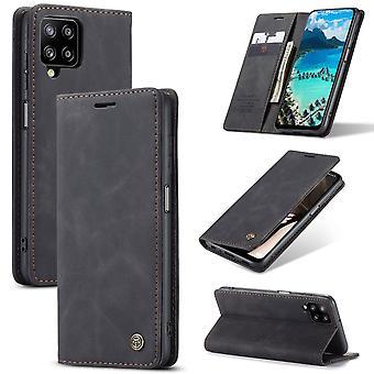 CASEME Plånboksfodral Samsung Galaxy A12 - Svart
