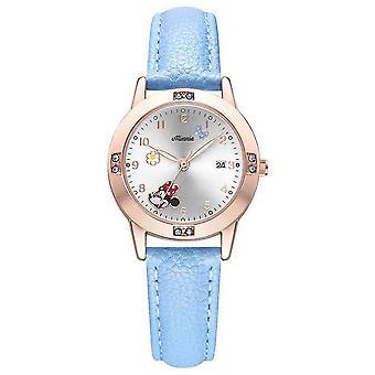 Frozen Girl Elementary School Girl Pointer Watch