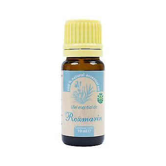 Rosmariini eteerinen öljy (Rosmarinus officinalis) 100% puhdasta ilman lisäystä, 10 ml
