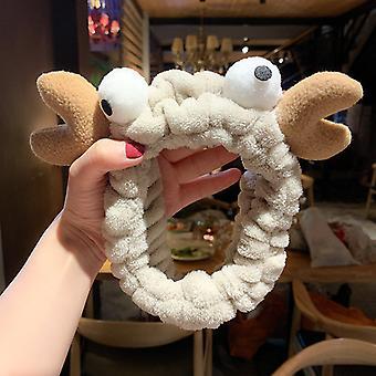 Wash Gezicht Haarhouder Haarbanden Zacht Warm Coral Fleece Meisjes Tulband Fashion Hair Accessoires