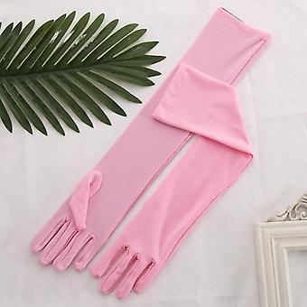Men Women Long Gloves, Long Design Waitress Gloves